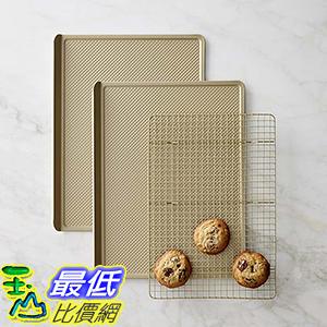 [美國直購] Williams-Sonoma Goldtouch Nonstick 3-Piece Cookie Bakeware Set 烘培用具
