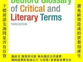 二手書博民逛書店The罕見Bedford Glossary of Critica