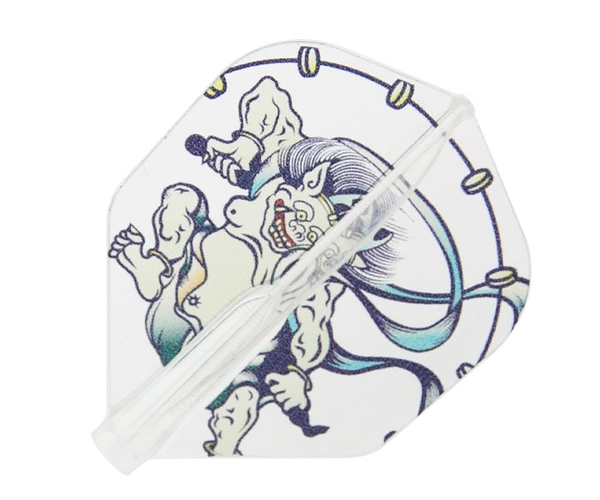 【Fit Flight AIR x CrossDesign】風神雷神-FujinRaijin- Shape Clear 鏢翼 DARTS