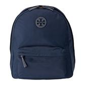 【TORY BURCH】尼龍前口袋後背包-福利品(深藍)