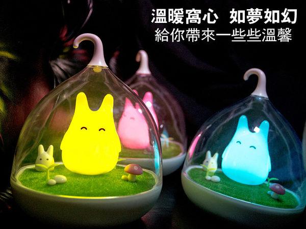 USB充電 檯燈 小夜燈 鳥籠燈 微景觀 床頭燈 感應燈 LED燈 拍拍燈 卡通燈