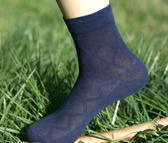 男士薄襪子夏超薄棉中筒黑色透氣純棉防臭