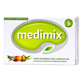 Medimix 阿育吠陀天然草本精萃皂125g(淺綠)【屈臣氏】