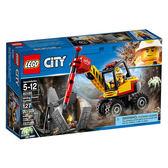 樂高Lego CITY 城市系列【60185 採礦強力鑽地機】