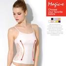 魔法e裳《輕塑身衣蕾絲背心》3D超彈力*可當內搭顯瘦背心*內附胸墊-B043A-2