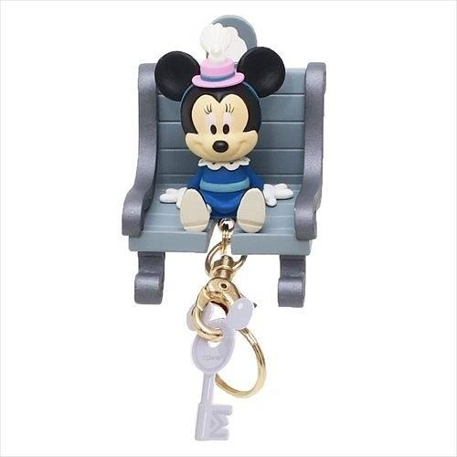 日本正版 迪士尼 米妮 磁鐵座 鑰匙圈 吊飾 掛飾 COCOS NT500