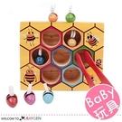 木製夾小蜜蜂箱遊戲 益智玩具