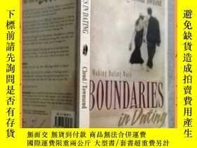 二手書博民逛書店英文書罕見boundaries in dating 約會的界限Y16354 請見圖片 請見圖片