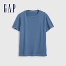 Gap男裝簡約風格舒適款短袖T恤573397-珍珠藍色