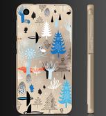 ✿ 俏魔女美人館✿ 【彩色森林*金屬邊框】htc 728手機殼 手機套 保護套 保護殼