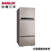 【SANLUX 台灣三洋】475L直流變頻三門冰箱SR-C475CV1A