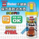 【現貨】Skater 超輕量不鏽鋼保冷直飲式水壺470ml(SDC4)-多美小汽車TOMIKA