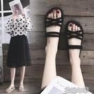 兩穿涼鞋女夏季新款搭配裙子百搭仙女風時尚平底潮鞋 花樣年華