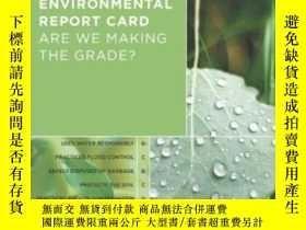 二手書博民逛書店America s罕見Environmental Report Card: Are We Making The G