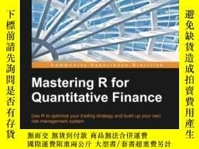 二手書博民逛書店Mastering罕見R For Quantitative FinanceY364682 Edina Berl