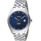 TITONI宇宙系列摩登經典機械腕錶  878 S-612 藍