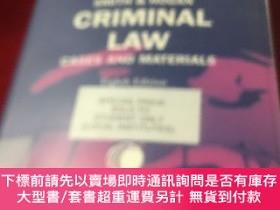 二手書博民逛書店SMITH罕見& HOGAN CRIMINAL LAW CASES AND MATERIALSY266593