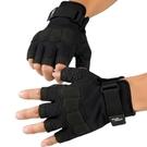店長推薦▶特種兵手套男運動健身半指手套 戶外騎行戰術防護露指格斗手套