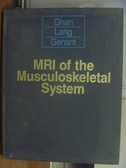 【書寶二手書T6/大學理工醫_QLX】Mri of the musculoskeletal system_1994年