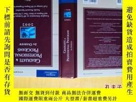 二手書博民逛書店GRADUATE罕見& PROFESSIONAL PROGRAM