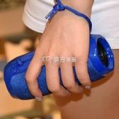 藍芽音響 便攜式無線藍芽音箱超重低音炮插卡U盤mp3音樂播放器收音機戶外迷 麥吉良品