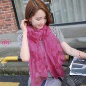 絲巾披肩兩用女 韓版薄款超大圍巾(共21色)AL1008
