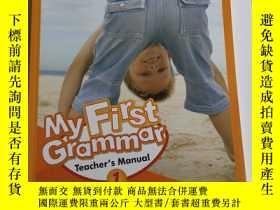 二手書博民逛書店My罕見First Grammar 1 Teacher s ManualY201150 JASON WiLBU