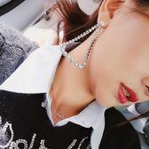 巴掌潮品鑲鑚時尚鏤空三角形耳環女飾個性長款幾何夸張新款防過敏 時尚潮流