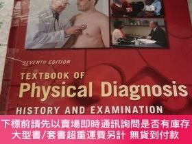 二手書博民逛書店Textbook罕見of Physical Diagnosis-History and Examination 5