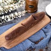 樂活e棧-微澱粉麵包系列-軟式法國巧克力長麵包(118g/條,共1條)