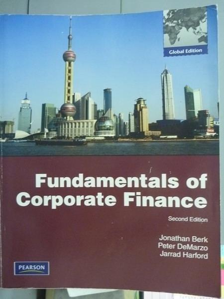 【書寶二手書T5/大學商學_PFR】Fundamentals of Corporate Finance_Jonathan