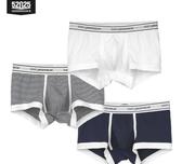 莫代爾3條裝男士內褲男平角褲