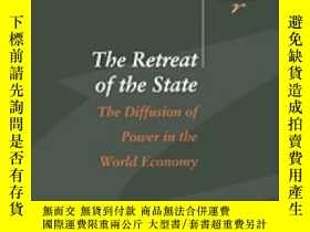 二手書博民逛書店The罕見Retreat Of The State: The D