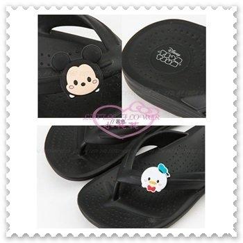 ♥小花花日本精品♥《Disney》迪士尼 米奇 唐老鴨 EVA 防水 休閒拖 拖鞋 童拖鞋 黑色 417101 (預購)