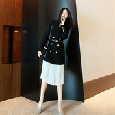 女神衣2021年早春新款衣服春裝連身裙女裝氣質女神范歐洲站歐貨潮套裝裙LX 嬡孕哺 免運