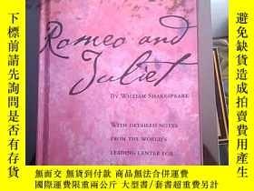 二手書博民逛書店英文原版精裝罕見Folger shakespeare library Romeo and Juliet by wi