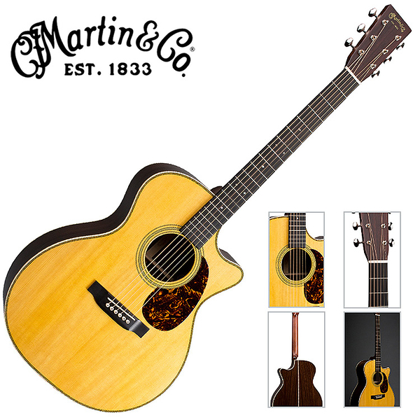 Martin GPC-28E 嚴選東印度紅木電木吉他 - 拾音器Fishman® Aura VT Enhance 或 LR Baggs Anthem