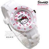 SANRIO三麗鷗 HELLO KITTY凱蒂貓系列 日本機芯 童趣卡通女錶 兒童錶 白色 S7-1038K