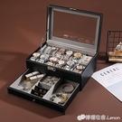 手錶收納盒 首飾盒公主歐式韓國首飾品展示架耳環釘帶鎖收納飾品盒箱手錶盒子 檸檬衣舍