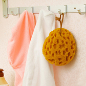 ♚MY COLOR♚珊瑚蜂天然原色海綿 去汙 洗碗 洗臉 沐浴 蜂窩 吸水 懸掛 晾乾 廚房【N151】