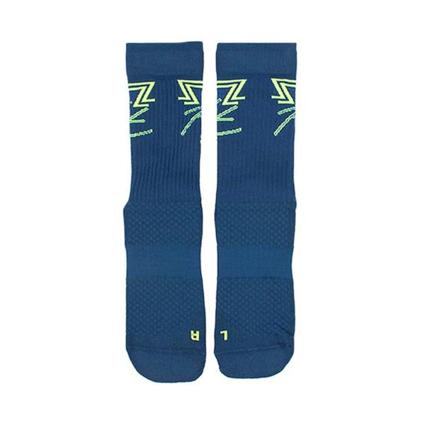 Nike U J LEGACY CREW FLIGHT ESS 藍綠 喬丹 單雙入 籃球 中筒襪 CK6042-460