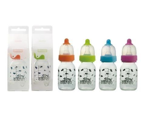 貝喜力克玻璃奶瓶-120ML(D151)