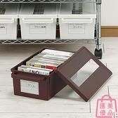 日本進口dvd碟片cd盒光盤收納盒箱游戲碟儲存盒架【匯美優品】