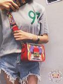 側背包ins夏季小包包女2018新款潮時尚個性韓版chic百搭斜挎單肩子母包 全館免運