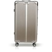 【YC Eason】30吋運動鋁框避震行李箱胖胖箱(鈦金)