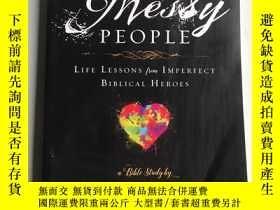 二手書博民逛書店Messy罕見People: Life Lessons from