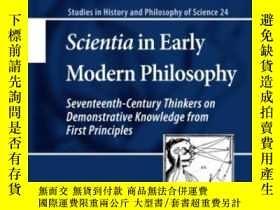 二手書博民逛書店Scientia罕見In Early Modern Philos