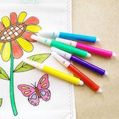 【BlueCat】兒童塗鴉繪畫水彩筆 (6入)