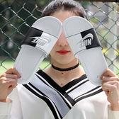 Nike Wmns Benassi JDI  白黑  陰陽 拖鞋 女 ( 布魯克林 ) 2018/7月 343881104