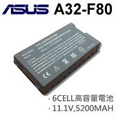 ASUS 黑色 6芯 日系電芯 A32-F80 電池0 X80A X80H X80L X80LX80N X80Z X81L X81SC X81SE X81SG X81SR X82CR X82L